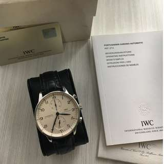 IWC 371446 Portuguese Chrono