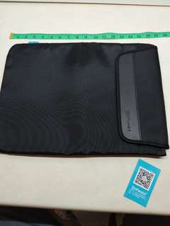17 inch full black Laptop Padded Bag Sleeve