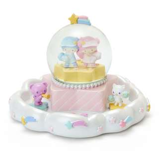 Japan Sanrio Little Twin Stars Snow Globe & Accessory Tray (Cheer of Starry Sky)