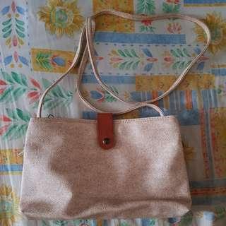 Khaki Beige Small Sling Bag Crossbody Bag