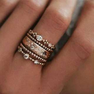 Stackable Boho Rings
