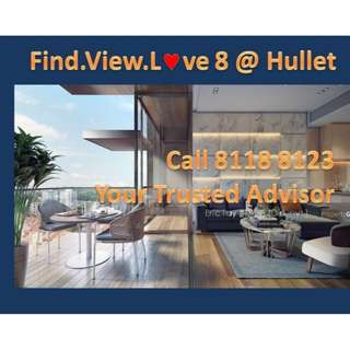 8 @ Hullet - Prob the best investment New launch in D09 Orchard Area