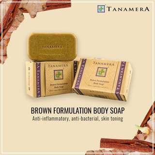 Tanamera Brown Formulation Body Soap 125gm