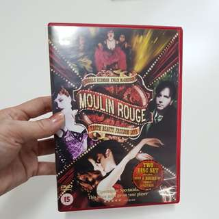 Moulin Rouge - Nicole Kidman DVD