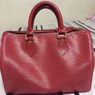 Louis Vuitton speedy 25 Epi Leather