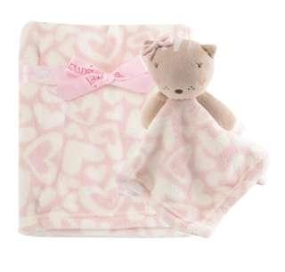 Luvable Friends Luvena Fortuna Fleece Blanket and Comforter