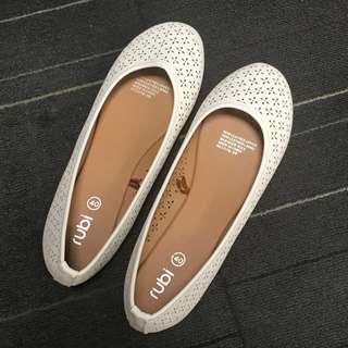 BN Rubi Ballet Flats - 40 White