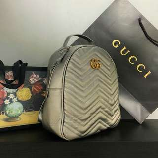GUCCI BACKPACK (GREY)