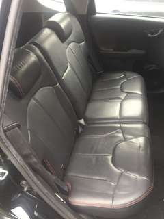 Honda Fit Ge6 rear seat