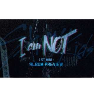 [PO] STRAY KIDS 1ST MINI ALBUM - I Am NOT