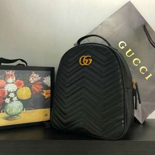 GUCCI BACKPACK (BLACK)