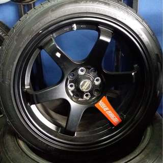 2nd TE'37 R17 (velg only)