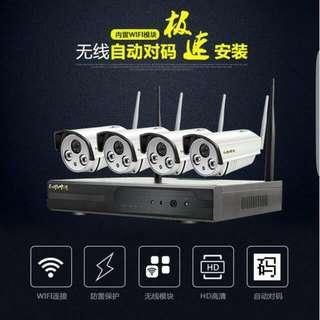 CCTV WIRELESS CAMERA SYSTEM