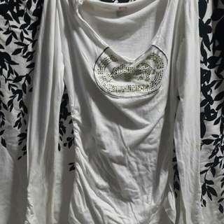 Preloved white long sleeves