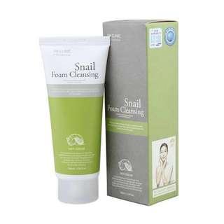 3W clinic snail foam cleanser