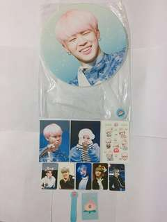 BTS JIMIN韓站SUPERDUPER 30cm big fan