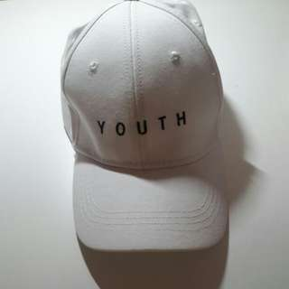 *REDUCED* YOUTH CAP(WHITE)