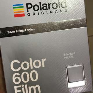 Colored Polaroid 600 (Silver Frame)