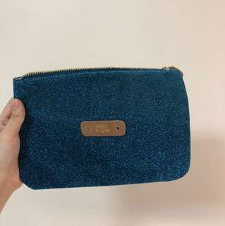 Mila Louise Blue Clutch