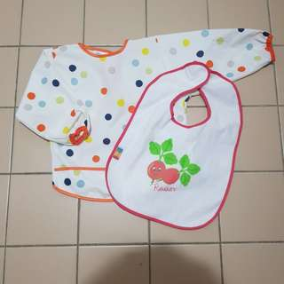 Two Baby Bibs