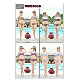CODE: MSW-0094 Bubbles Two Piece Swimsuit