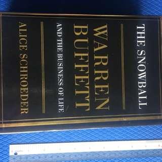 Book about Warren Buffett
