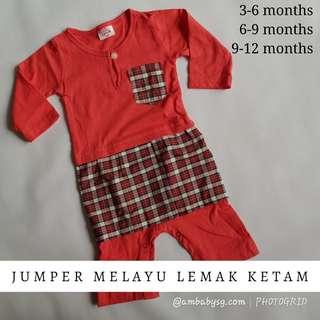 Jumper Melayu with Samping