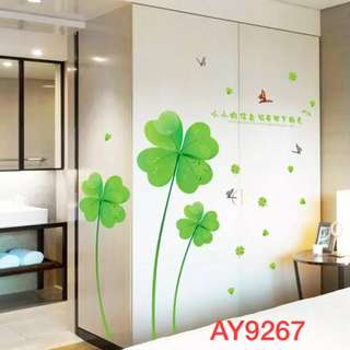 Flower Wall Decal Sticker
