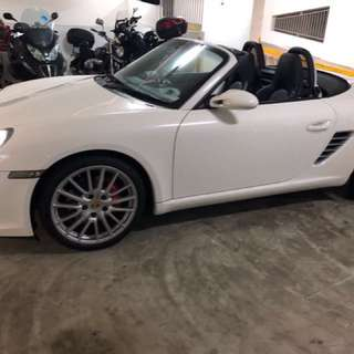 Porsche Boxster for Wedding Rental