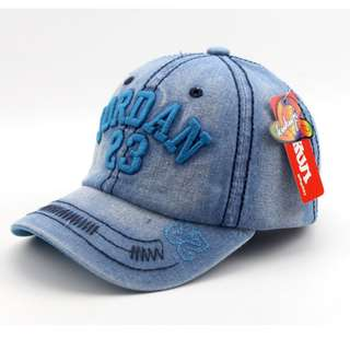 Children Kids Unisex Denim Cap