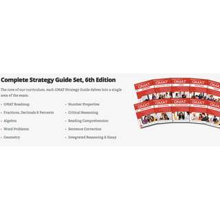 Latest Manhattan GMAT Complete Strategy Guide (6th Edition)