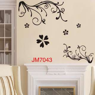 Flower Wall Decal Sticker