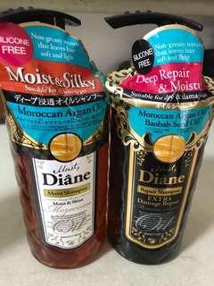 Moist Diane Shampoos