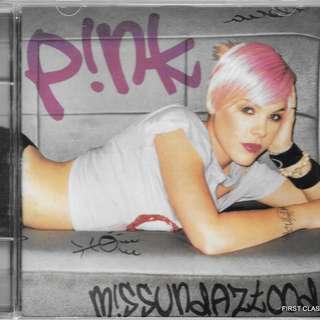 MY PRELOVED CD - PINK MISSUNDEDAZTOOD /FREE DELIVERY (F7G)