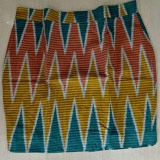 Rok batik motif lombok