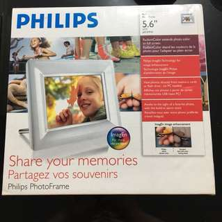 Photo frame from Philips