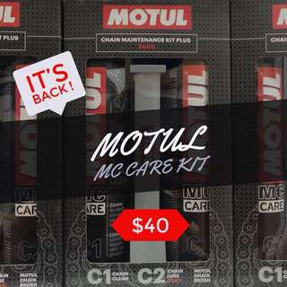 Motul Chain Maintenance Kit Plus