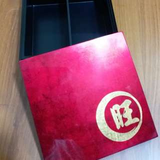 Shining Red Comestic Mini storage Box