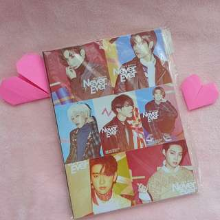GOT7 Notebook