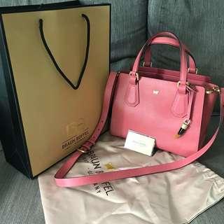 Authentic Braun Buffel Handle Bag
