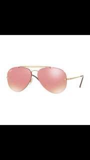 ray ban blaze aviator flash lenses rb3584 brand new full packages