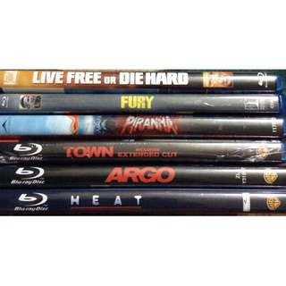 Nm various prewatched originals blurays fury town argo heat etc