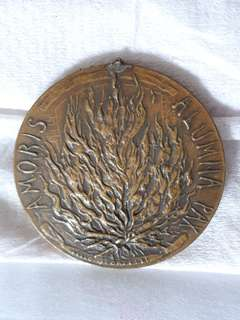 Vatican Issued Bronze Medal on Pope VI to United Nations