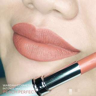 Peach Perfect - Wardah #Halal Intense Matte Lipstick