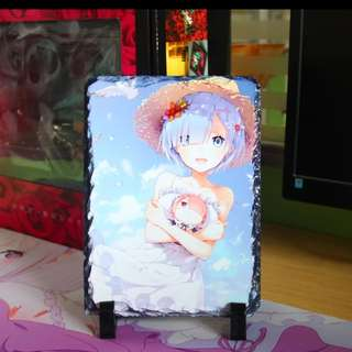 Re: Zero Rem rock paintings