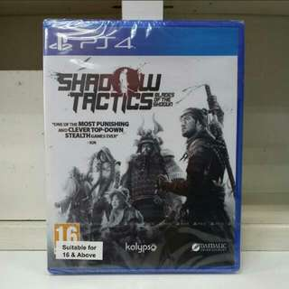 PS4 Shadow Tactics Blades Of The Shogun