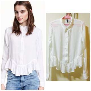 H&M Frilled Blouse