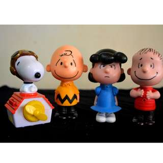 Vintage Toy Collections, Peanut and the Gang