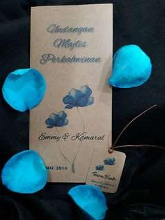 Kad kahwin / Wedding Card