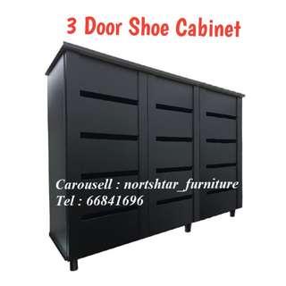 3 Door Shoe Cabinet / Shoe Rack